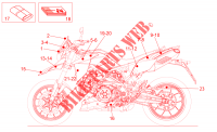 Decal  Toolkit für Aprilia Dorsoduro 2013